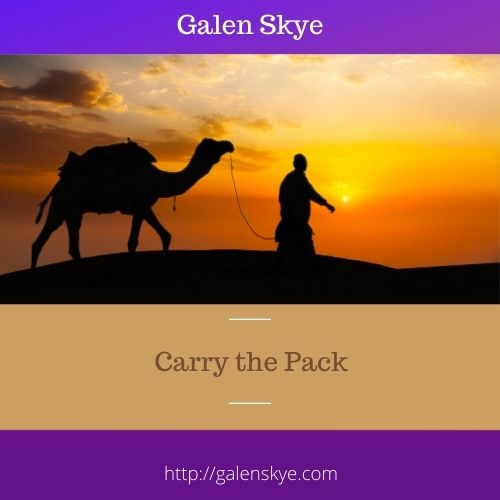 Carry the Pack-Galen-Skye