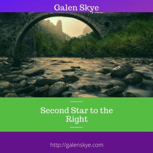 Second Star to the Right - Poem by Galen Skye