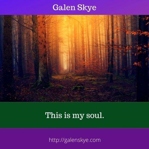 Poem - This is my soul - Galen Skye